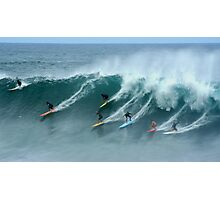 North Shore Surfers Photographic Print
