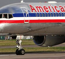 American Airlines 757 Close up at Manchester by PlaneMad1997