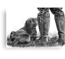 Gun Dog Canvas Print
