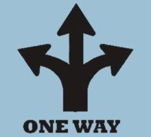 One Way by persnicketier10