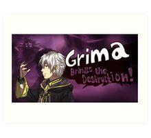 Grima Brings the Destruction! Art Print