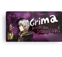 Grima Brings the Destruction! Metal Print