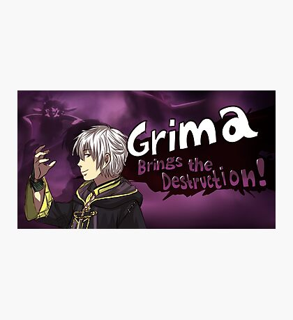 Grima Brings the Destruction! Photographic Print