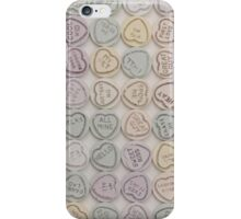 Love Hearts White iPhone Case/Skin