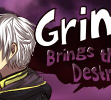 Grima Brings the Destruction! Sticker