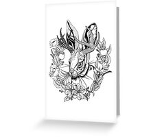 The Majestic Jackalope Greeting Card