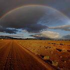 Storm over Edeowie by John Shortt-Smith
