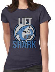 Lift Shark Womens Fitted T-Shirt