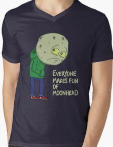 Everyone makes fun of Moonhead...... Mens V-Neck T-Shirt