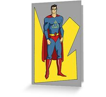 Super Harry Greeting Card