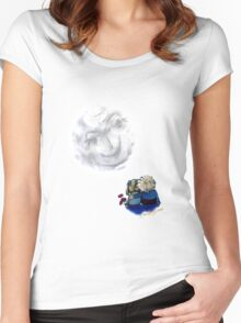 Blue Moon Romance Women's Fitted Scoop T-Shirt