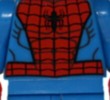 LEGO Spiderman Sticker