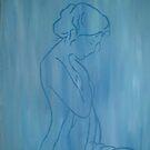 Blue Mood by Penny-Sue  Scott