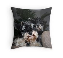 Ty and Coco Throw Pillow