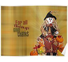 Scarecrow Season Poster