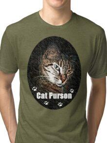 Cat Purson Tee Tri-blend T-Shirt
