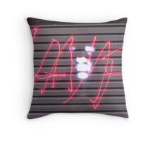 One Boring Night Throw Pillow