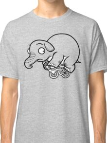 Concerned Elephant Classic T-Shirt