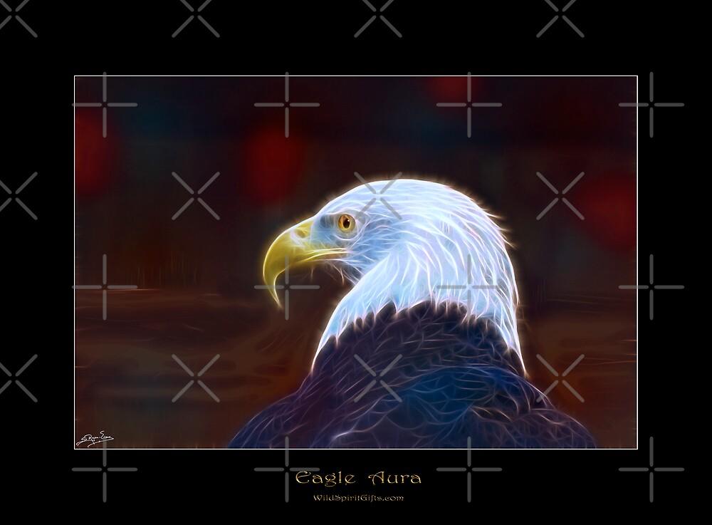 """Eagle Aura"" (Bald Eagle) by Skye Ryan-Evans"
