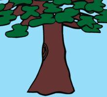 TREE: From Professor Warps Nature Book Of Extinctions 3011 - T-SHIRT Sticker