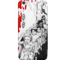 Hell's school melted version iPhone Case/Skin