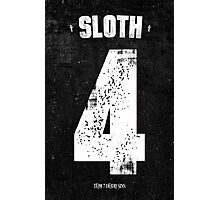 7 Deadly sins - Sloth Photographic Print