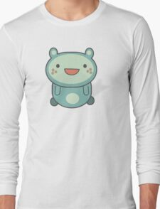 Cute blue critter Long Sleeve T-Shirt