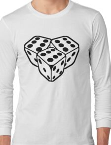 666 dice Long Sleeve T-Shirt