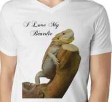 i love my beardie Mens V-Neck T-Shirt