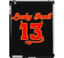 Lucky Devil 13 iPad Case/Skin