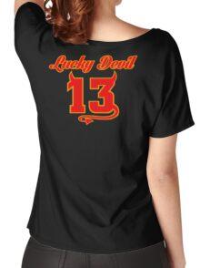 Lucky Devil 13 Women's Relaxed Fit T-Shirt