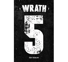 7 Deadly sins - Wrath Photographic Print