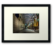 House of Music gallery, Moscow Framed Print