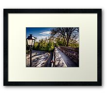 Chester Walkway Framed Print