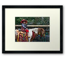 Chinese Doll Framed Print
