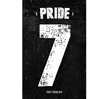 7 Deadly sins - Pride Photographic Print