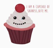 Cupcake of Sadness Kids Tee