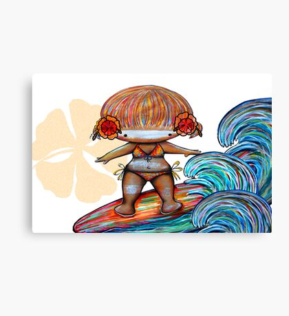 Malibu Missy Canvas Print