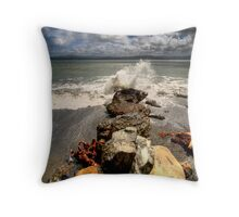 Hold Fast! Throw Pillow