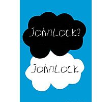 Johnlock? Johnlock Photographic Print