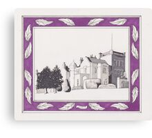 Pittodrie House Hotel Canvas Print