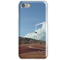 Catalan Wind Farms iPhone Case/Skin