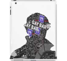 To the gay bar! iPad Case/Skin