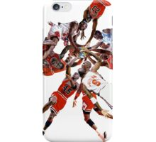 """I've Failed Over and Over Again In My Life"" Michael Jordan Earth Basketball Slam Vortex iPhone Case/Skin"