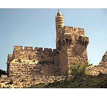 King David's Tower Photographic Print