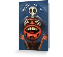 Who is it? Greeting Card
