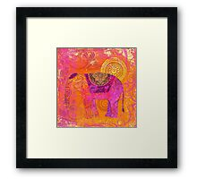 Happy Elephant II Framed Print