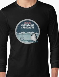 Visit the Mountains of Madness - Round Long Sleeve T-Shirt