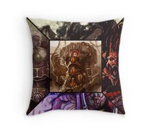 Chaos Primarchs Throw Pillow