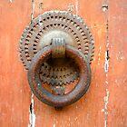 marteau de la porte d'église. Troyes by William Lyszliewicz